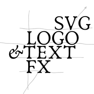 SVG Logo and Text Effects
