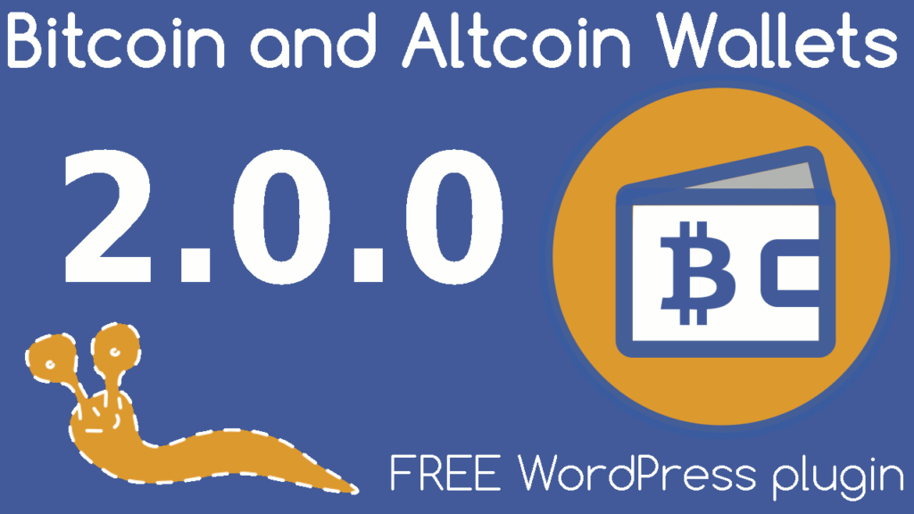 Version 2.0.0 of the Bitcoin and Altcoin Wallets free WordPress plugin features compatibility with a new block.io coin adapter, plus many more improvements.