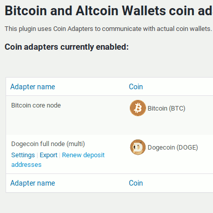 Renew deposit addresses feature in Bitcoin and Altcoin Wallets for WordPress
