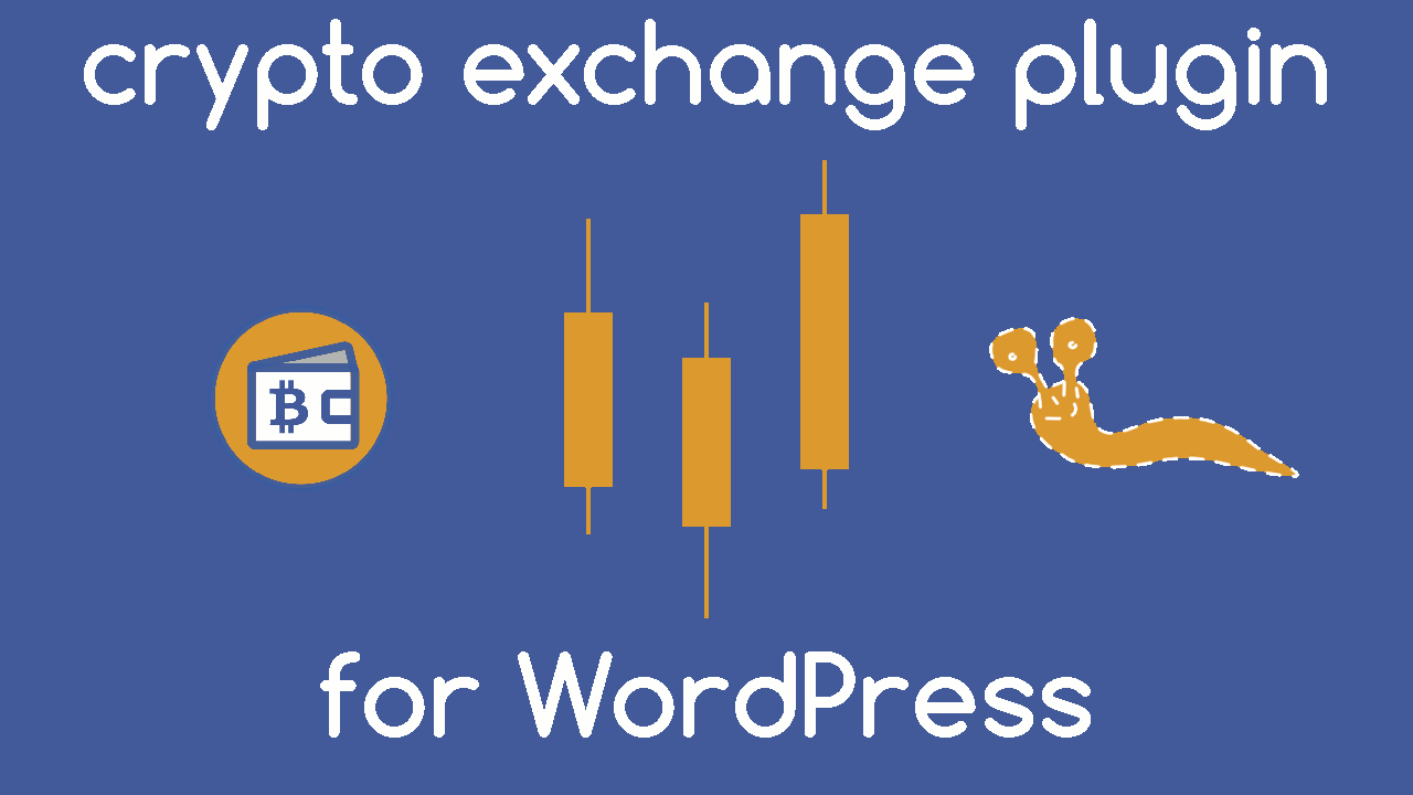 Exchange under Wallets menu in WordPress admin