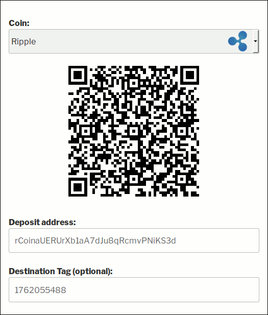Deposit UI in Bitcoin and Altcoin Wallets WordPress plugin