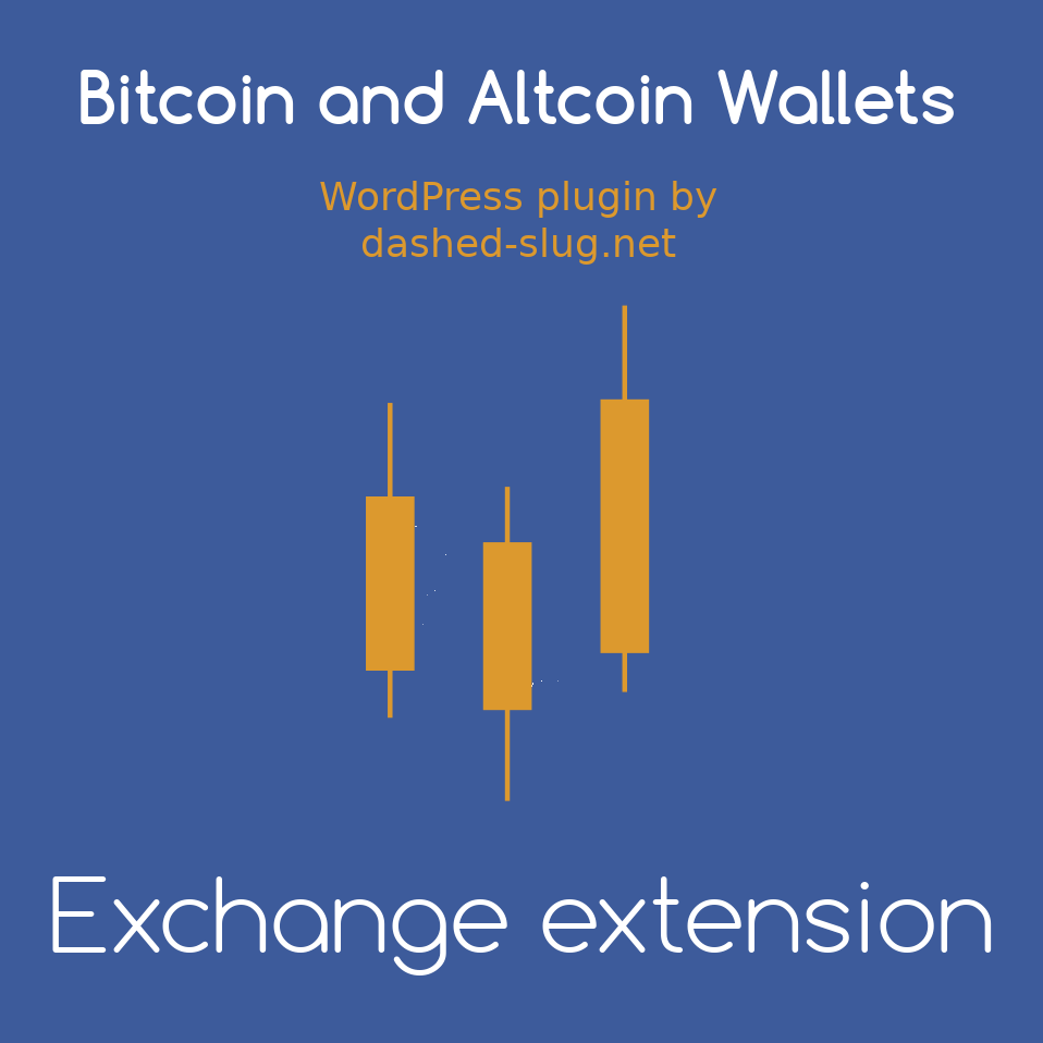 Exchange extension to Bitcoin and Altcoin Wallets for WordPress