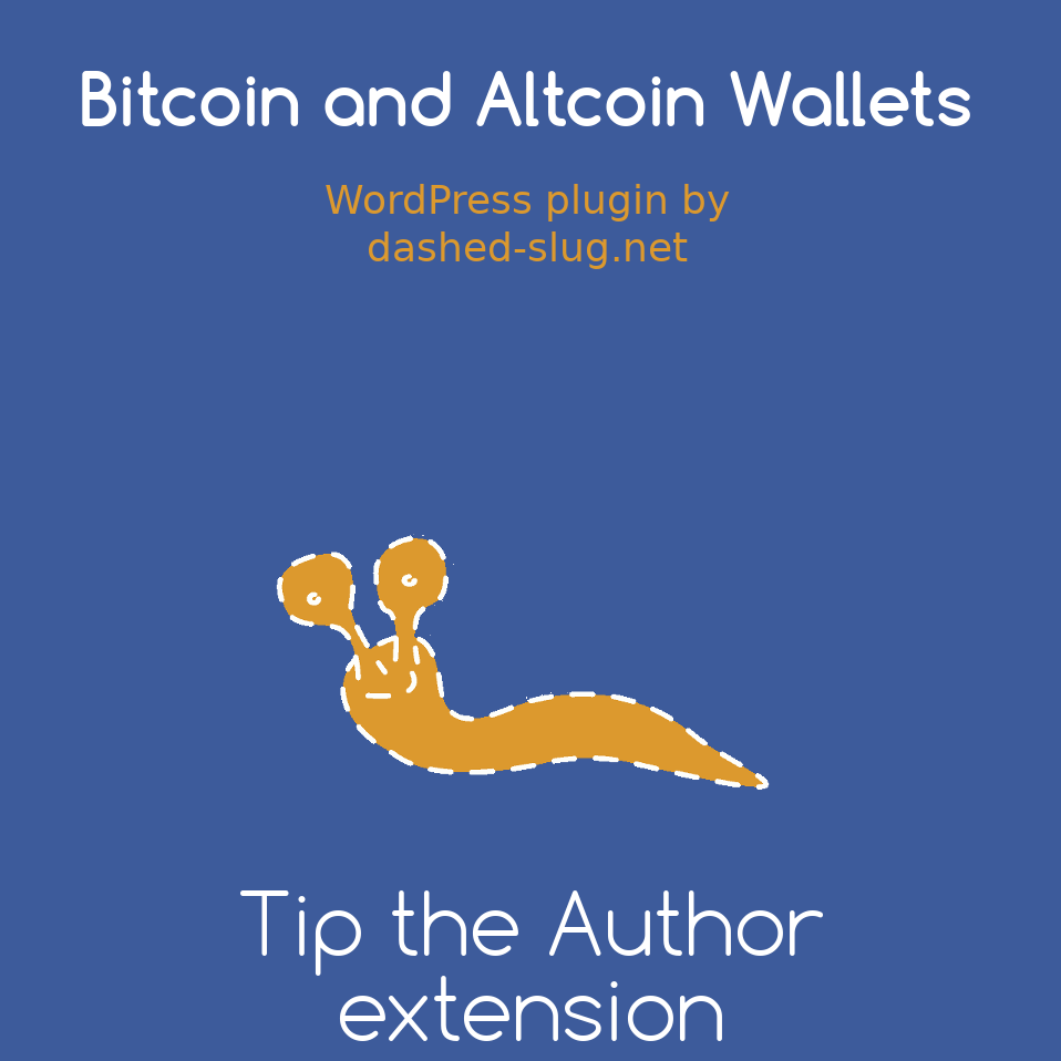 Tip the Author Extension for Bitcoin and Altcoin Wallets for WordPress