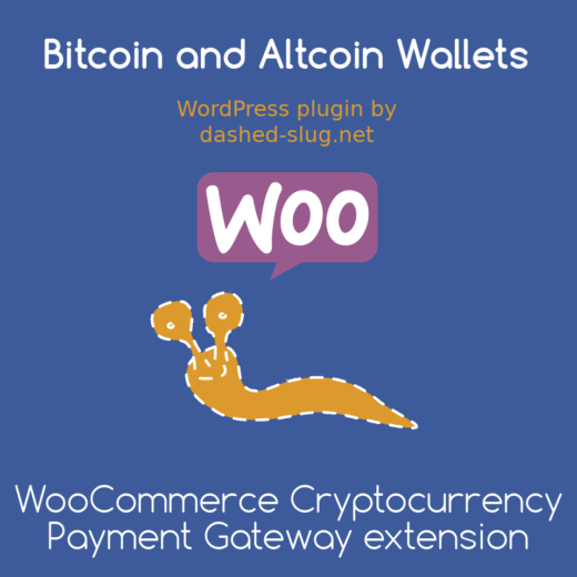 WooCommerce Cryptocurrency Payment Gateway extension