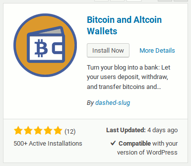 Installing Bitcoin and Altcoin Wallets from WordPress.org