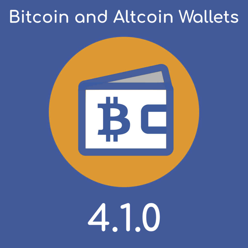 Bitcoin and Altcoin Wallets version 4.1.0