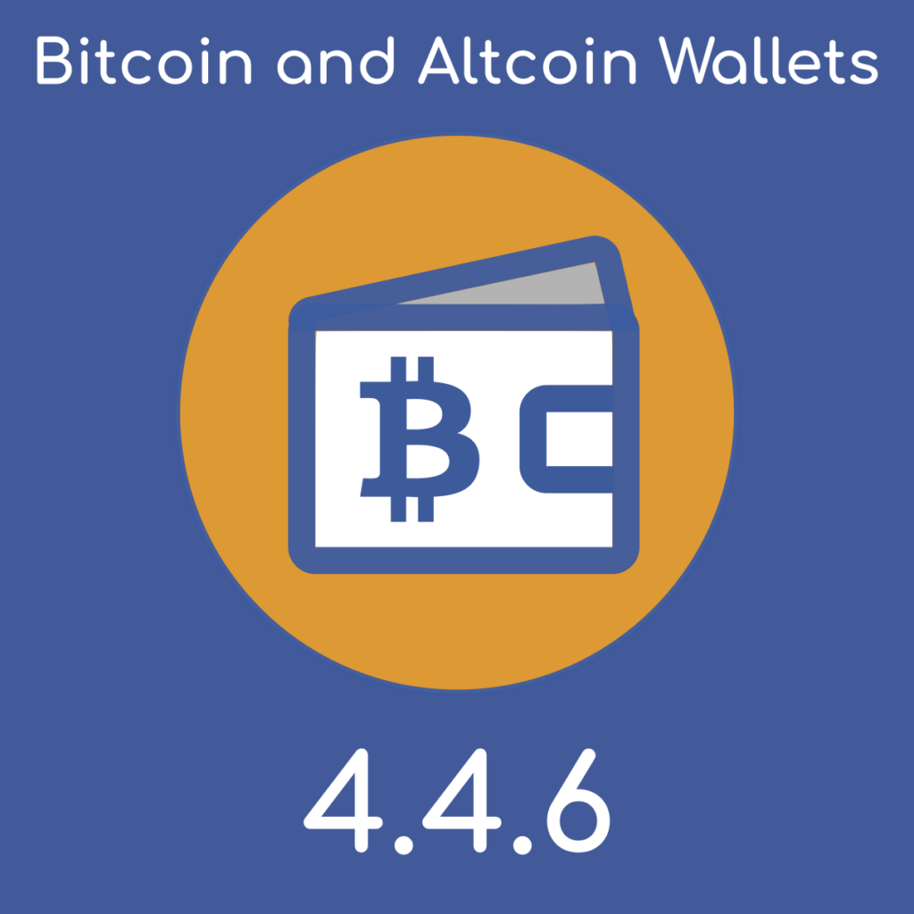 Bitcoin and Altcoin Wallets version 4.4.6